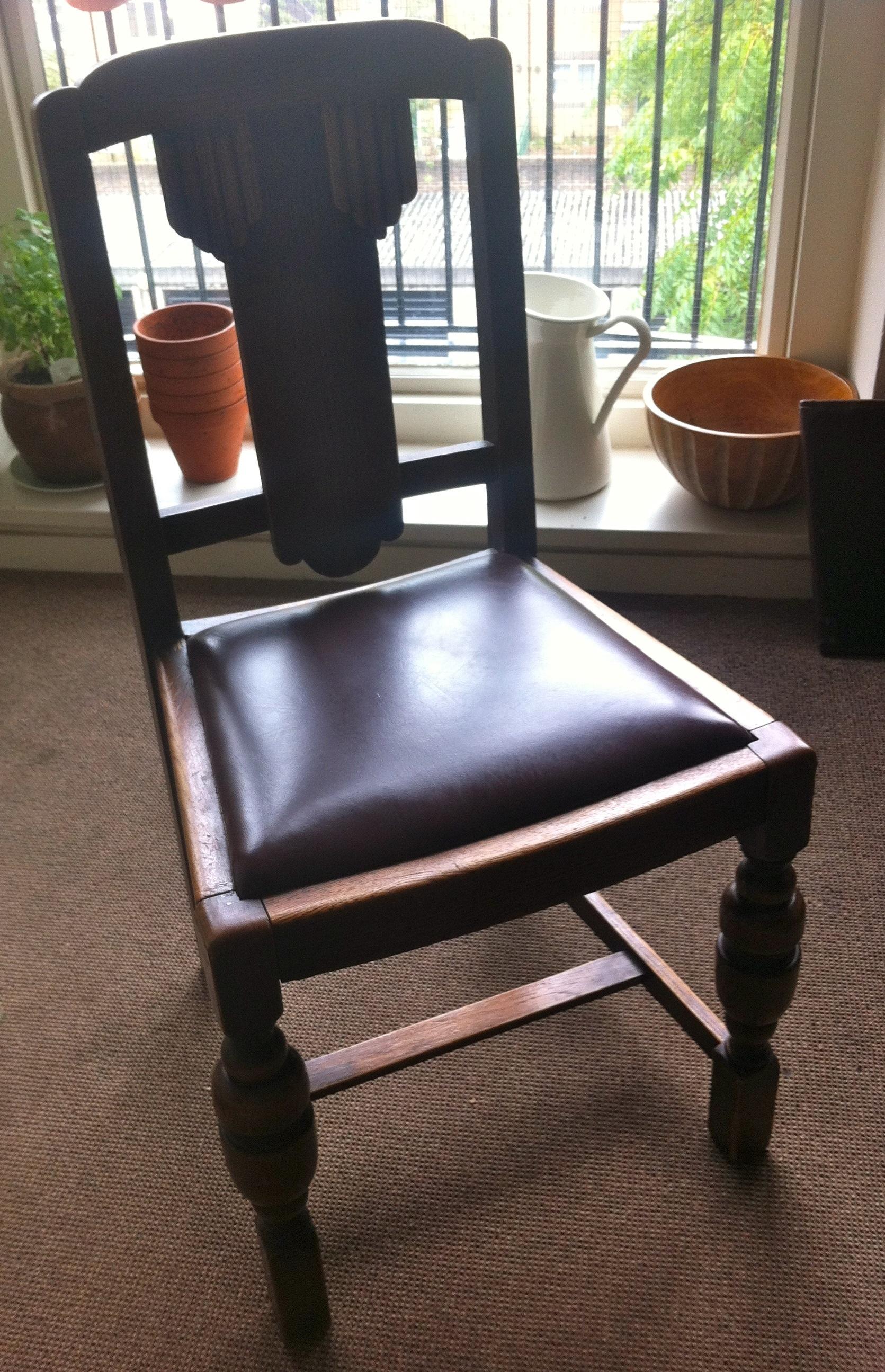 Simple chair update – klaus and heidi